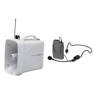 拡声器 選挙用ワイヤレスハンズフリーセット TWB-300 WM-3130|seiko-techno-pa