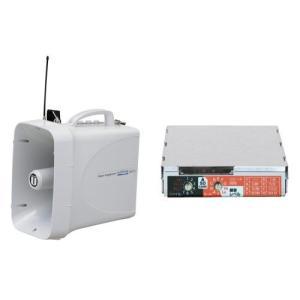 拡声器 選挙用大型メガホンSD再生セット TWB-300N SDU-300|seiko-techno-pa
