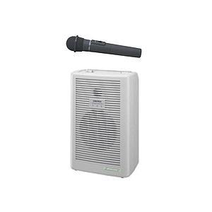 ユニペックス ワイヤレスアンプ WA-361A 防滴ワイヤレスマイク WM-3400 防災用拡声器セット seiko-techno-pa