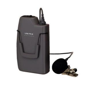 ユニペックス 300MHz帯 ワイヤレスマイク WM-3100|seiko-techno-pa