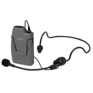 ユニペックス ヘッドセット形 ワイヤレスマイク WM-3130|seiko-techno-pa