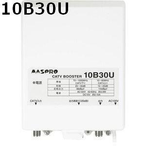 マスプロ 4K・8K対応 CATVブースター 30dB 10B30U-B|seiko-techno