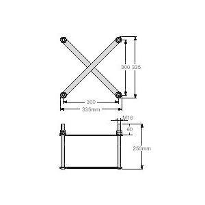 マスプロBS・CSアンテナ用 自立マストアンカーボルトBT30|seiko-techno