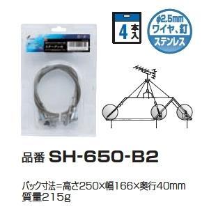 DXアンテナ ステーアンカ(4本入) SH-650-B2 ステンレス支線止め メール便で送料無料|seiko-techno