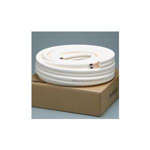 メック エアコン用銅管パイプ 2分3分 ペアコイル M-P23(20M) 切り売り 両端フレア加工済 50cm単位|seiko-techno