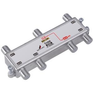 DXアンテナ 6分配器 4K・8K対応 1端子通電型 6DMS メール便で送料無料|seiko-techno