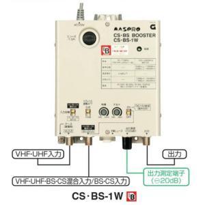 マスプロ BL型 BS・CSブースター 40dB型 CS・BS-1W|seiko-techno