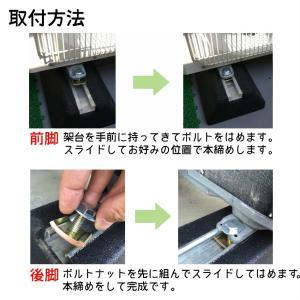 セイコーテクノ 防振ゴムブロック GBK-40 エアコン室外機の振動対策に|seiko-techno|11