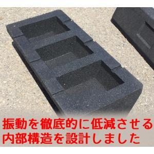 セイコーテクノ 防振ゴムブロック GBK-40 エアコン室外機の振動対策に|seiko-techno|03