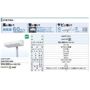 共同受信用UHFアンテナ DXアンテナ UAH750 seiko-techno 02