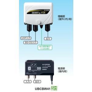 マスプロ UHF/BS(CS) ブースター UBCBW41 4K・8K対応|seiko-techno