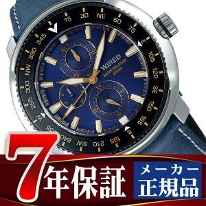 SEIKO WIRED セイコー ワイアード クオーツ 腕時計 メンズ ソリディティ SOLIDITY ブルー AGAT418|seiko3s