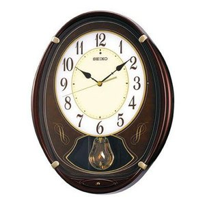 SEIKO セイコー ウエーブシンフォニー 電波掛時計 AM248B 正規品【ネコポス不可】 seiko3s