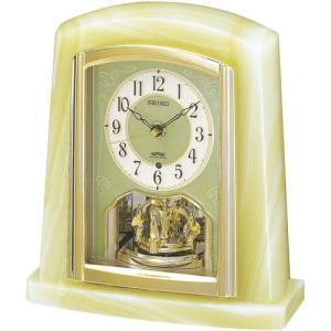 SEIKO セイコー オニキス枠 電波置時計 BY223M■機 能 ・電波修正機能(40kHz/60...
