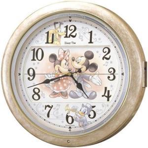 SEIKO セイコー Disney ディズニー ミッキー からくり 電波掛時計 FW561A■ 機 ...
