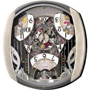SEIKO セイコー Disney ディズニー ミッキー からくり 電波掛時計 FW563A■ 機 ...