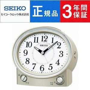 SEIKO CLOCK セイコー クロック スタンダード 目覚まし時計 KR892G【ネコポス不可】 seiko3s