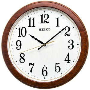 SEIKO セイコークロック   ブラウン  掛時計 電波クロック KX260B|seiko3s