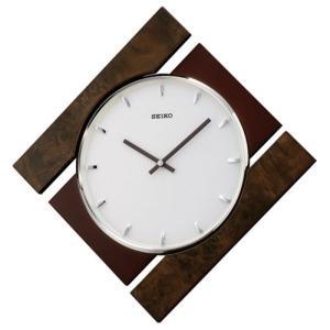 SEIKO セイコー スタンダード 掛け時計 MDFバール模様 KX609A【ネコポス不可】 seiko3s