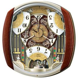 SEIKO セイコー ウエーブシンフォニー からくり 電波掛時計 RE564H■ 機 能 ・電波修正...