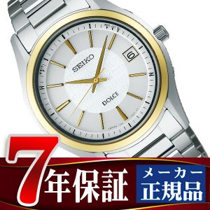 SEIKO DOLCE&EXCELINE セイコー ドルチェ&エクセリーヌ セイコー ドルチェ SEIKO DOLCE 電波 ソーラー 電波時計 腕時計 メンズ ホワイト SADZ188 seiko3s
