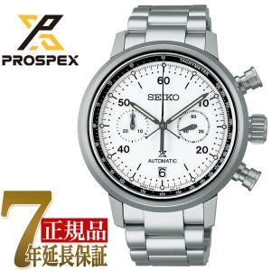 セイコー SEIKO プロスペックス スピードタイマー メンズ 腕時計 ホワイト SBEC007|seiko3s