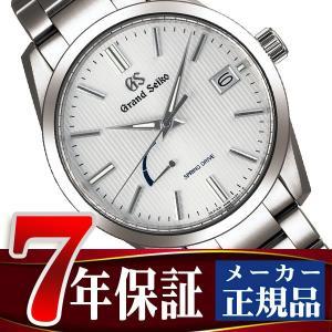 グランドセイコー 腕時計 メンズ スプリングドライブ ホワイト SBGA347|seiko3s