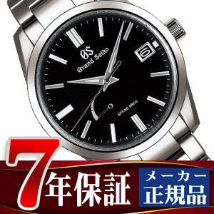 グランドセイコー 腕時計 メンズ スプリングドライブ ブラック SBGA349|seiko3s