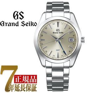 グランドセイコー GRAND SEIKO 9FクオーツGMT メンズ 腕時計 シルバー(厚銀放射) SBGN011|seiko3s
