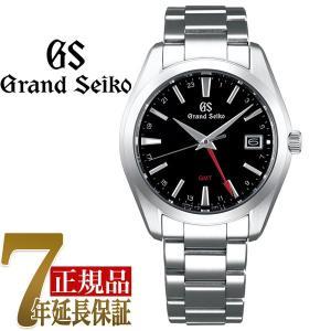 グランドセイコー GRAND SEIKO 9FクオーツGMT メンズ 腕時計 ブラック SBGN013|seiko3s
