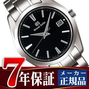 グランドセイコー 9F クオーツ メンズ 腕時計 チタン ブラック SBGV231|seiko3s