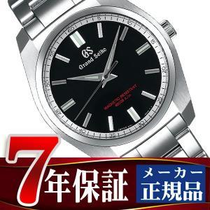 グランドセイコー 9F クオーツ メンズ 腕時計 強化耐磁モデル ブラック SBGX293|seiko3s
