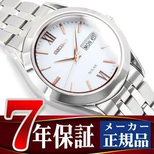 SEIKO SPIRIT セイコー スピリット ソーラー 腕時計 メンズ ペアウォッチ ホワイト SBPX095 seiko3s