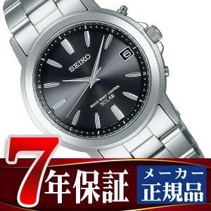 SEIKO SPIRIT セイコー スピリット 電波 ソーラー 電波時計 腕時計 メンズ ペアウォッチ ブラック SBTM169|seiko3s