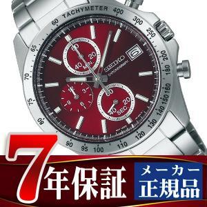 SEIKO SPIRIT セイコー スピリット クオーツ クロノグラフ 腕時計 メンズ レッド SBTR001 seiko3s