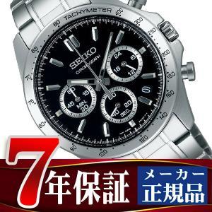 SEIKO SPIRIT セイコー スピリット クオーツ クロノグラフ 腕時計 メンズ ブラック SBTR013|seiko3s