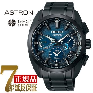 セイコー SEIKO アストロン Global Line Sport 5X Titanium コア メンズ 腕時計 ブルー SBXC105|seiko3s