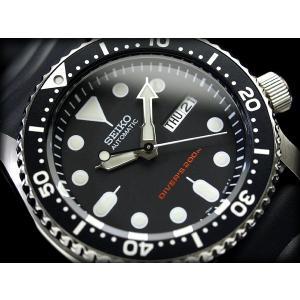 セイコー ダイバーズ 逆輸入 セイコー SEIKO 自動巻き 腕時計 SKX007K【ネコポス不可】...