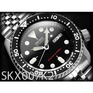 セイコー ダイバーズ 逆輸入 セイコー SEIKO 自動巻き 腕時計 SKX007K2【ネコポス不可...