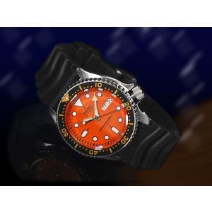 逆輸入 セイコー SEIKO ダイバーズ 自動巻き 腕時計 SKX011J【ネコポス不可】|seiko3s|02