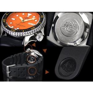 逆輸入 セイコー SEIKO ダイバーズ 自動巻き 腕時計 SKX011J【ネコポス不可】|seiko3s|03