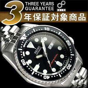 逆輸入 セイコー SEIKO ダイバーズ 自動巻き 腕時計 SKX013K2【ネコポス不可】|seiko3s