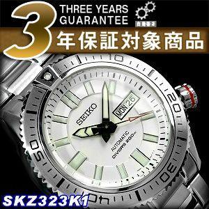 逆輸入 SEIKO セイコー スーペリア メンズ 自動巻き ダイバーズ 腕時計 SKZ323K1【ネコポス不可】|seiko3s