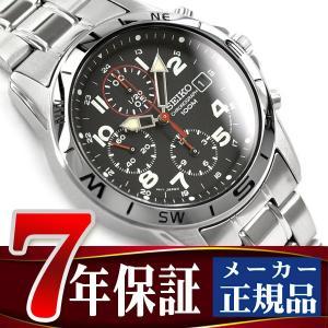 セイコー SEIKO セイコー 逆輸入 クロノグラフ 腕時計 SND375 seiko3s