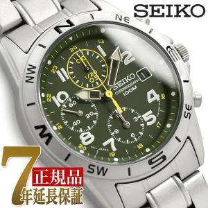 セイコー SEIKO セイコー 逆輸入 クロノグラフ 腕時計 SND377 seiko3s