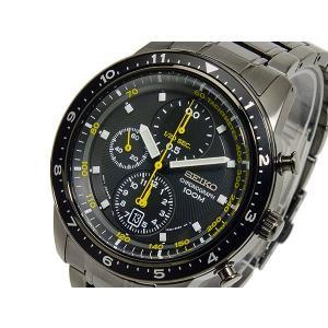 セイコー クロノグラフ 3年保証 逆輸入SEIKO セイコー クォーツ メンズ クロノグラフ 腕時計 SNDF43P1【ネコポス不可】 seiko3s