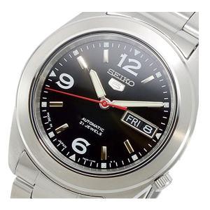 セイコー SEIKO セイコー5 SEIKO 5 自動巻き メンズ 腕時計 SNKM77K1 ブラック