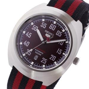 セイコー SEIKO セイコー5 スポーツ 5 SPORTS 自動巻き メンズ 腕時計 SRPA87K1 レッド/ブラック...
