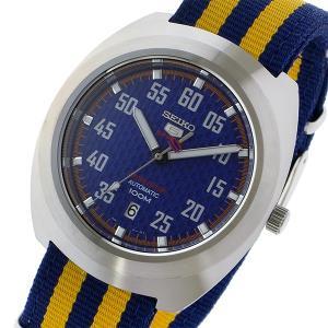 セイコー SEIKO セイコー5 スポーツ 5 SPORTS 自動巻き メンズ 腕時計 SRPA91K1 ブルー/イエロー...