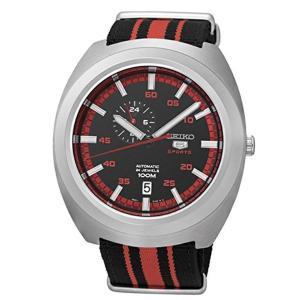 セイコー SEIKO セイコー5 SEIKO 5 スポーツ 自動巻き メンズ 腕時計 SSA287J1 ブラック/レッド...